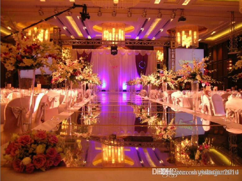 Hot sale brand new and high quality wedding decoration 1 meter wide hot sale brand new and high quality wedding decoration 1 meter wide mirror carpet wedding carpet wedding carpet runner used wedding decor wedding decor junglespirit Gallery