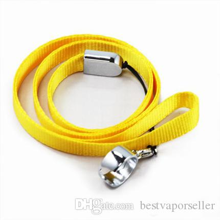 Lanyard Necklace String Neck Chain Sling w/ Clip Ring for Ego Series ego-t ego-c ego-w Electronic Cigarette E-Cigarette E Cig, ePacket