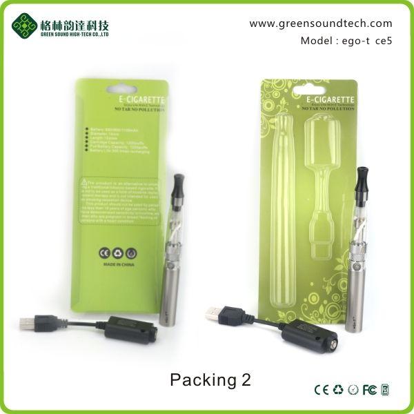 Best selling Large Vapor eGo CE5 Blister Kit 650mAh 900mAh 1100mAh vape pen best selling ego battery from Top E Cigarette Manufacturer China