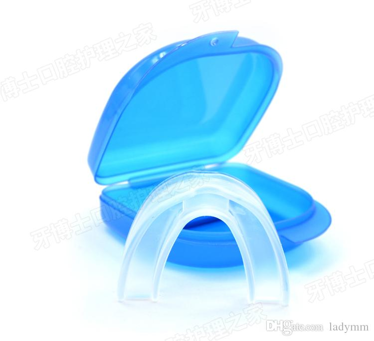 Drop shipping 10 pz Anti Snore Apnea Kit Boccaglio anti russare bocca vassoio Snoring Stopper Stop Russare Soluzione Sicurezza Materiale commestibile