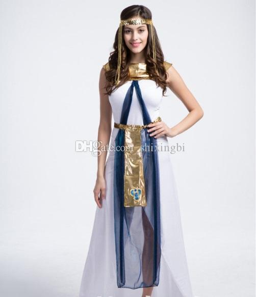 Online Buy Wholesale Greek Goddess Gown From China Greek: Greek Goddess Costume Halloween Costume Queen Of Egypt