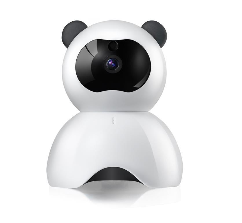Panda Shaped 720p Hd Wireless Security Camera Surveillance Baby ...