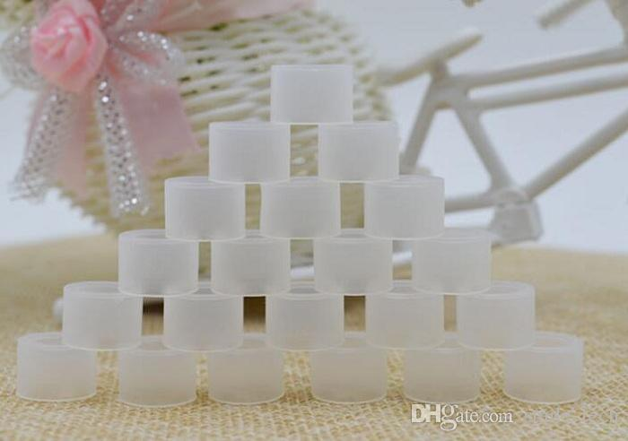 Fucahi 실리콘 마우스 피스 커버 Drip Tip 일회용 실리콘 테스트 캡 Rubber Test Drip 팁 Wildfox AIO vape