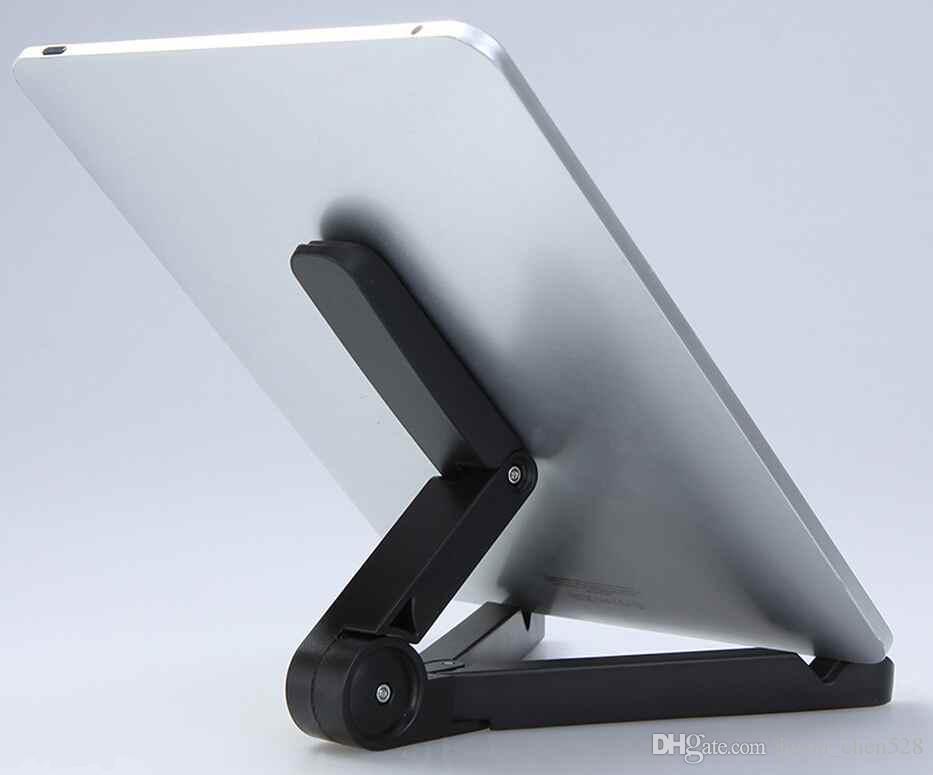 Ipad standı Taşınabilir foid standı Ayarlanabilir Fold-up Standları Tutucu iPad mini hava için Samsung Galaxy Tab 7