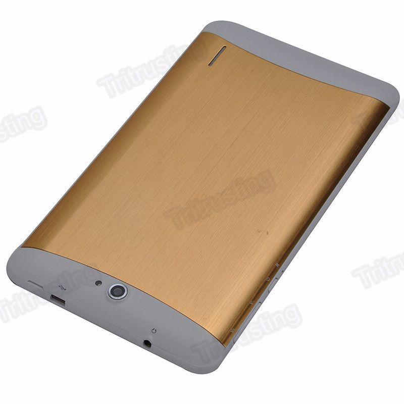 7 Zoll 3G Phablet Android 4.4 MTK6572 Doppelkern 1.5GHz 512 MB RAM 4 GB ROM 3G Telefon Anruf GPS Bluetooth WIFI WCDMA Tablet PC 706 MQ5