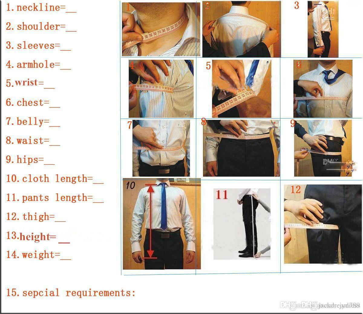 Ivoire One Button Hommes Costumes Châle Col Formelle Bestmen Groom Terno Slim Fit Masculino Personnalisé Fait Homme Tuxedos Veste + Pantalon Noir YM