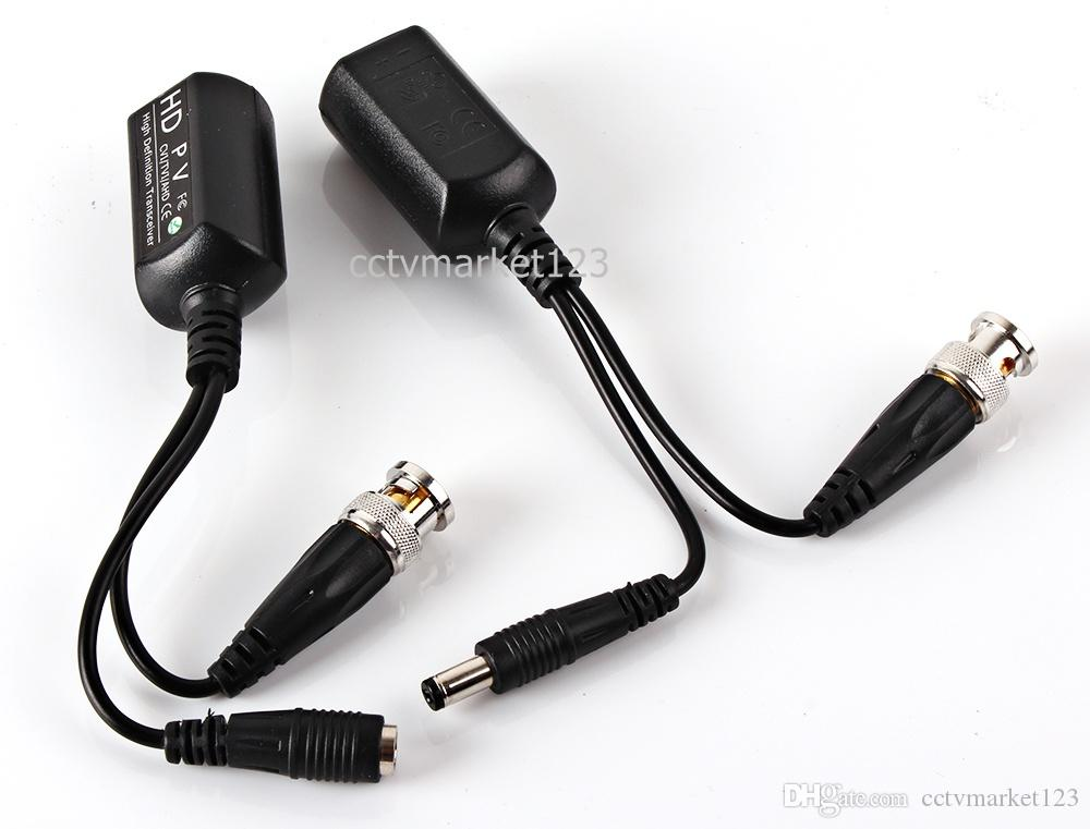 1CH Video Transmitter Video Balun 720P&1080P HDCVI AHD/HDTVI Camera BNC Connector TO RJ45 Transceivers Adapter
