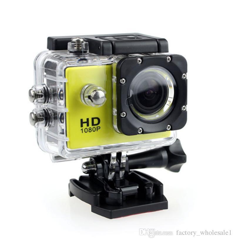 Hot SJ4000 1080P Full HD Action Digital Sport Camera 2 Inch Screen Under Waterproof 30M DV Recording Mini Sking Bicycle Photo Video