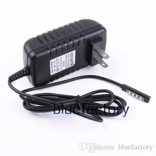 For Microsoft Surface RT 2 Wall Charger 12V 2A US EU AU UK Plug Supply AC DC Charging Travel Power Adapter for Tablet PC RT2 Black