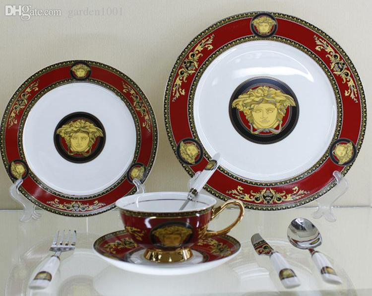 See larger image & England Royal Bone China Dinner Sets Serving Trays European Palace ...
