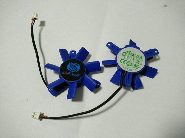 Orignal GA51S2L 12V 0.13A Pitch 39mm Diameter 46mm voor Sapphire-videokaartventilator