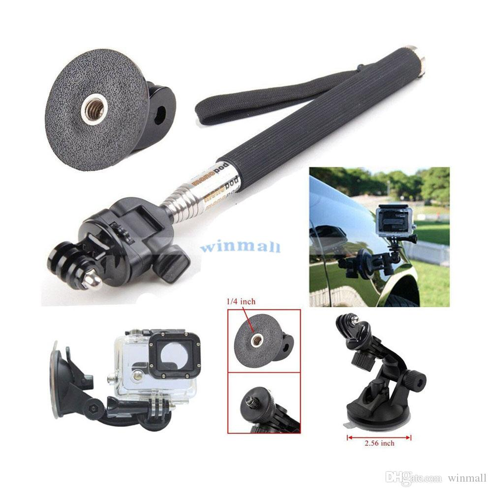 12 in 1 Accessories Head Chest Belt Strap Mount Outdoor Sports Bundle Kit For Action Camera EKEN H9 SJCam Yi Camera