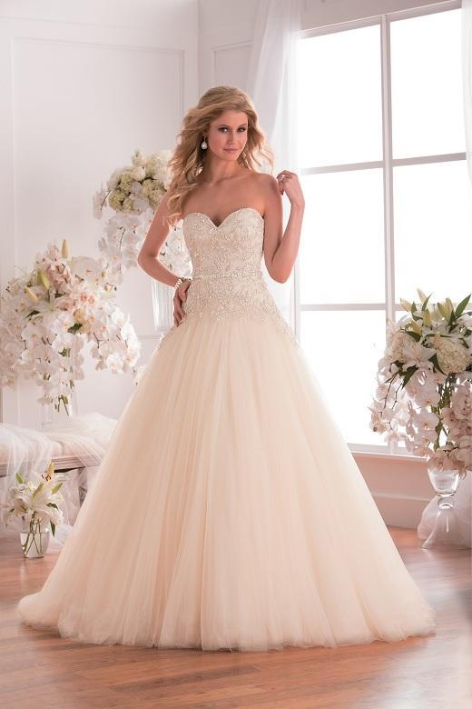 Custom Made Appliqued Vestidos De Casamento Rendas Uma Linha Até O Chão Zíper Tulle De Noiva Vestido De Marfim Beading Sem Alças Sexy Festa De Casamento