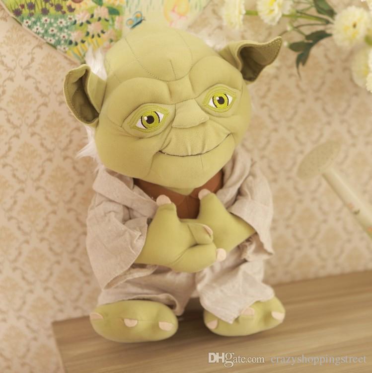 High Quality Star Wars Master Yoda 13 33cm Plush Toys Stuffed Dolls