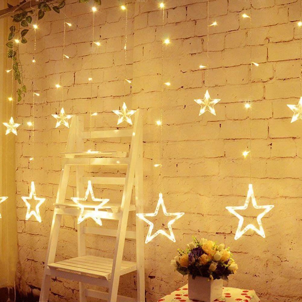 Wholesale- Holiday Lighting AC110V-220V Romantic Fairy Star LED ...