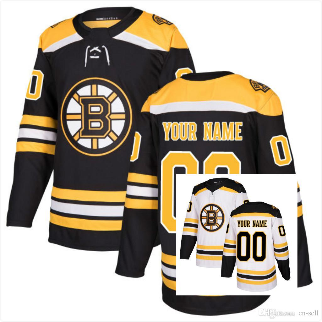 2019 2017 New Mens Womens Kids Boston Bruins Customized Any Name Any Number  On Back White Black Ice Hockey Jerseys From Cn Sell 4fad0cb789