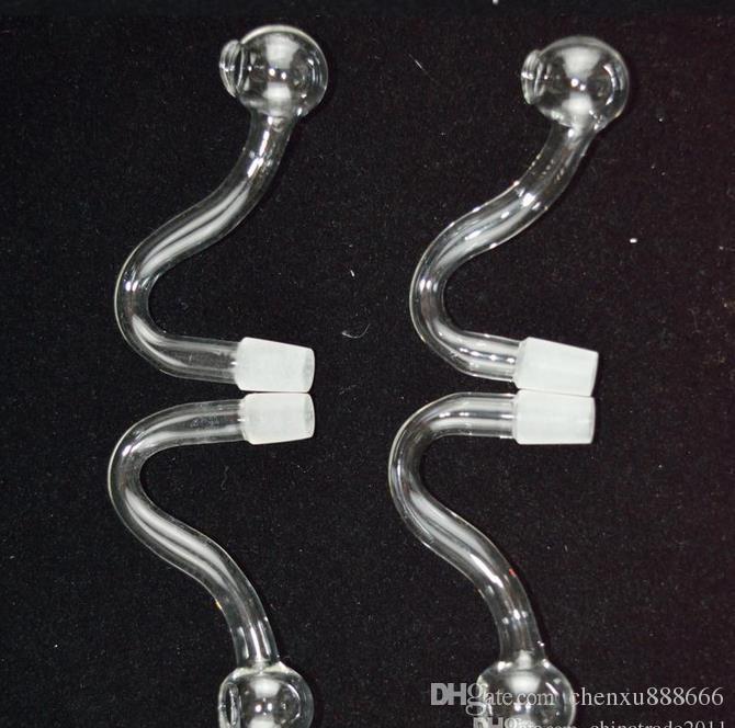 Recycler S Shape Мужские чаши для бонга 10мм Изогнутые стеклянные стеклянные чаши 3-дюймовые обжаренные в духовке миски для жареного картофеля Табачная горелка