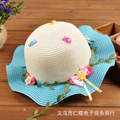 2015 новая мода корейские дети шляпы детские соломенная шляпа лето солнце шляпа для мальчиков и девочек дети джаз шляпы детские шляпы мода 01
