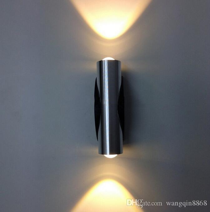 4W Wall Lamp AC85-265V LED Modern Creative Wall-Mounted LED Light with Aluminum Decoration for Studying Room