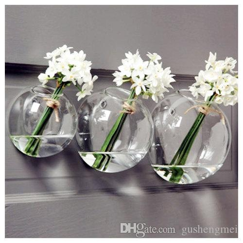 Glass Air Plants Holders Wall Glass Vase Wall Bubble Terrariums
