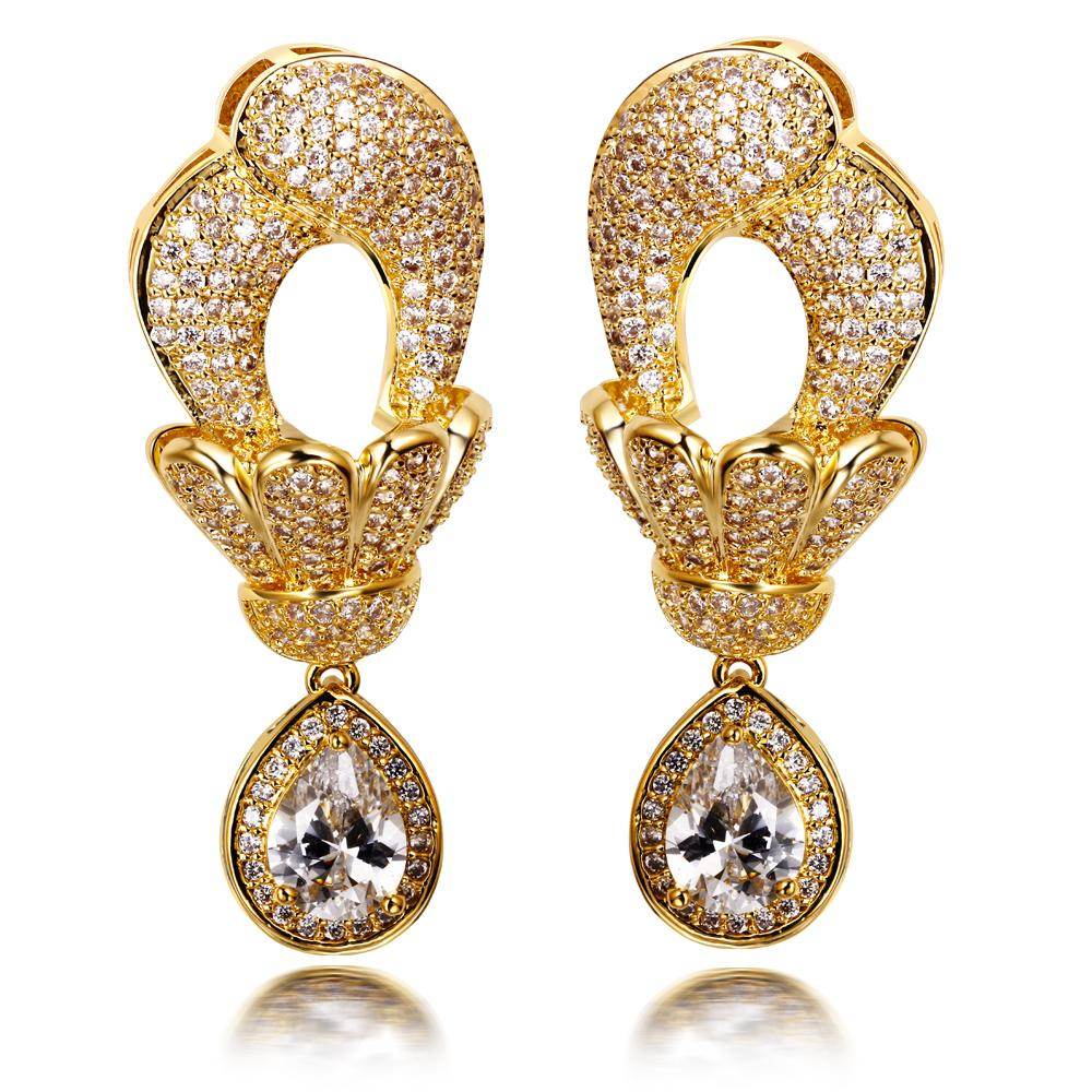 earrings with water rings color ring gold product golden jhumka big