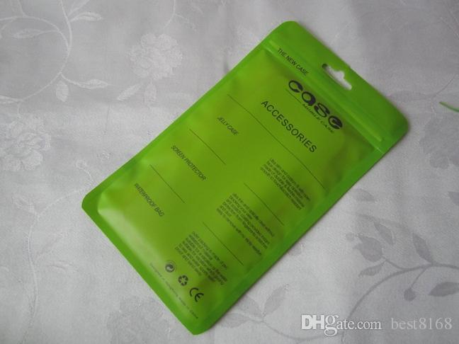 Pacchetto di imballaggio della borsa di plastica della cerniera colorata iPhone 12 11 XR XS Max 7 6 6S 4.7