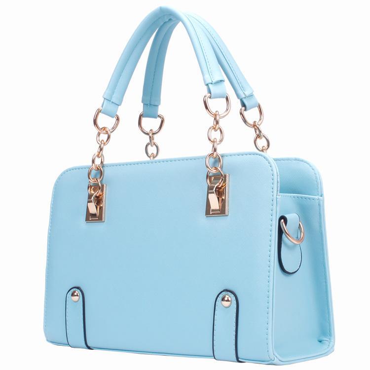 2015 Hot Selling Fashion Women Lady Retro PU Leather Handbags Crossbody Shoulder Bags Ladies Messenger Hobo Bag