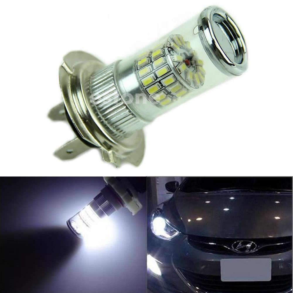 48-SMD H7 LED Bulb Reflector Mirror Design For Hyundai High Beam DRL ...