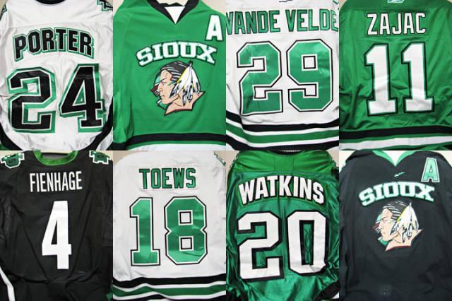 5055f6667d6 2015 University K1 North Dakota Fighting Sioux Hockey Jersey Black Green  White Pink Customized Sewn On XXS 6XL From Espn_sport, $24.37 | DHgate.Com