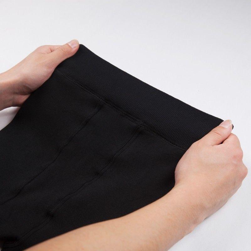 mallas para mujeres Polainas de lana para mujeres Gruesas de invierno gruesas de cintura alta para estirar Pantalones pitillo