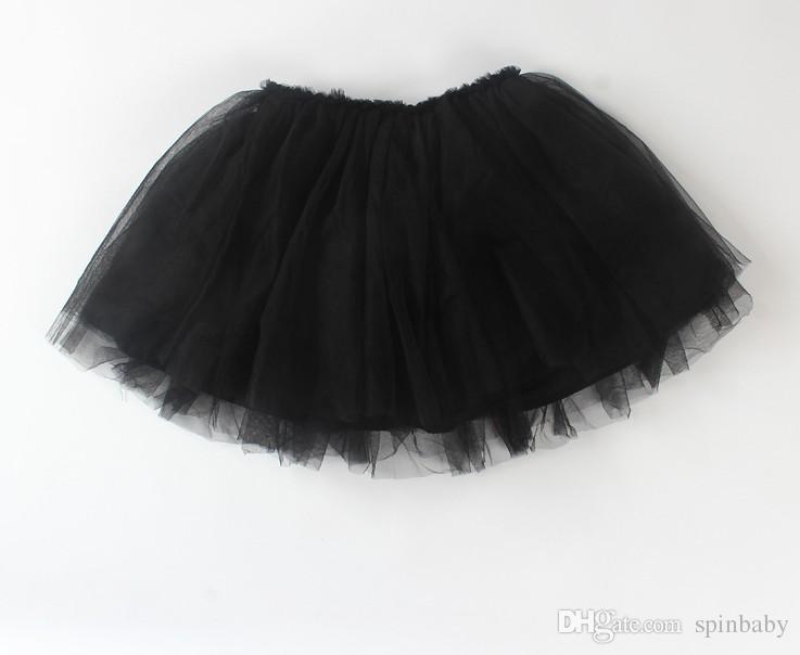 Autunno i Top qualità colore caramelle bambini tutu gonna abiti da ballo morbido tutu vestito 3 strati gonna bambini vestiti gonna principessa