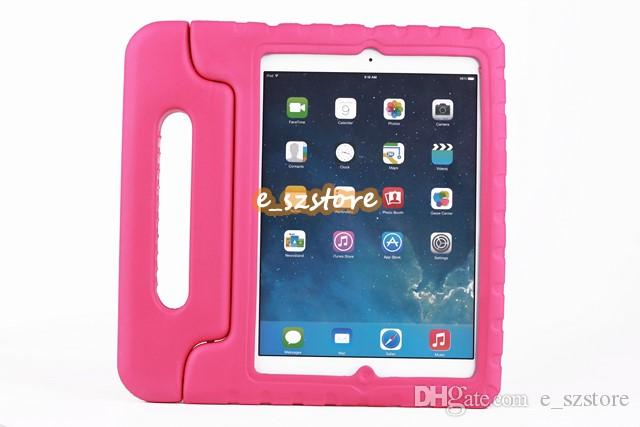For Apple iPad mini 1/2/3 mini4 Kids Cover Safe Handle Shockproof Case EVA Foam Shakeproof Stand Protective Cover