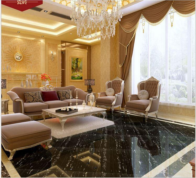 2018 floor tiles 800 living room bedroom anti slip glazed for Living room 3d tiles