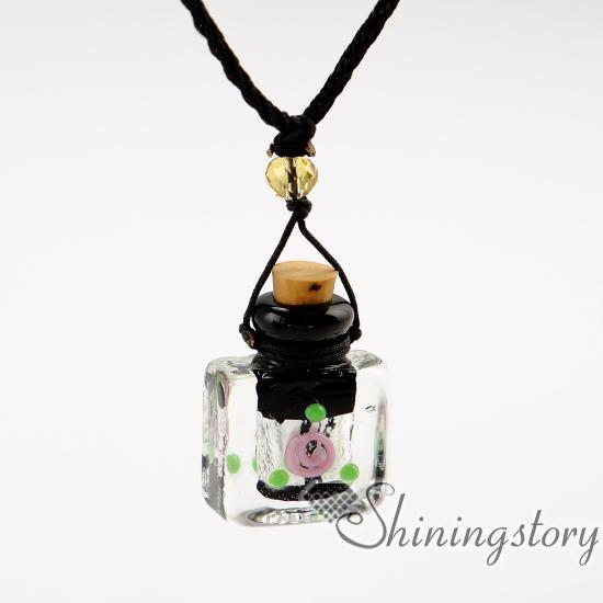 Difüzör madalyon aromaterapi difüzör kolye kolye vintage parfüm şişesi kolye difüzörler diy uçucu yağ difüzörü kolye