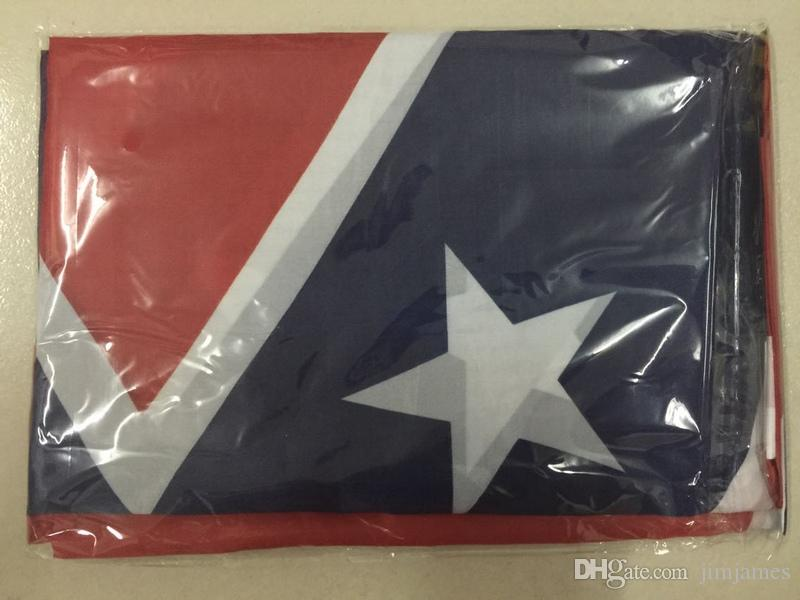 Confederate Rebel Flags Civil War Rebel Flag National High Quality Polyester Two Side Pirnted 3*5 Bettle Flags 150*90cm
