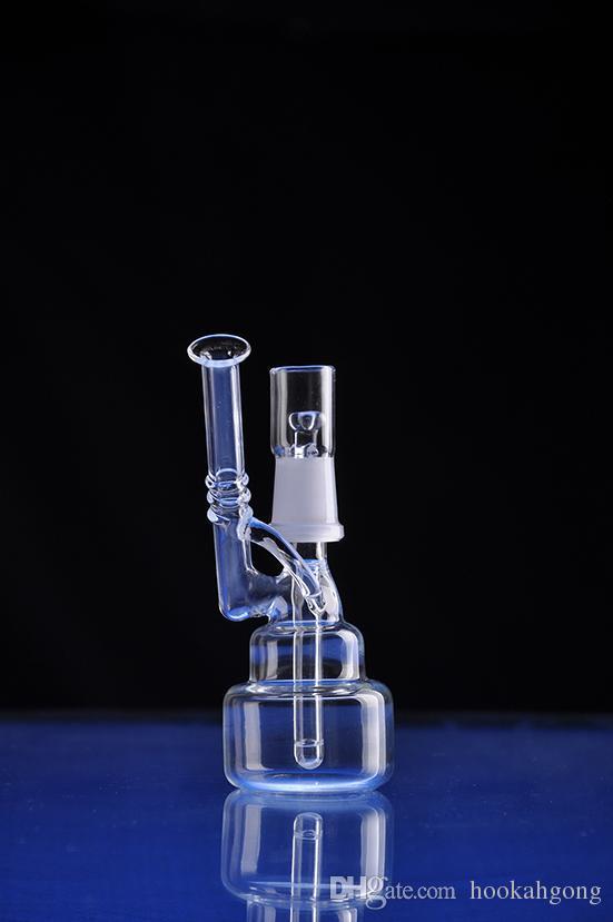 Bong !! Nouveau bol verre bong recycleur plate-forme pétrolière pipe à eau dabs crâne verre bong fab oeuf épaisseur verre narguilé