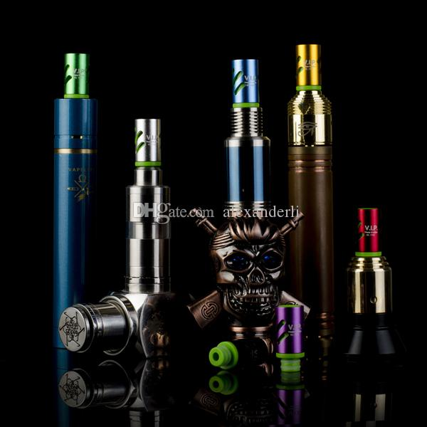 Newest Adjustable Airflow Drip Tips EGO Vaporizer 510 Mouthpiece for RDA RBA Atomizers Mods E Cig VIP Wide Bore Drip Tips