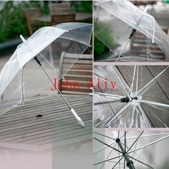 2018 Hot Selling Fashion Clear Plastic Rain Umbrella Pvc Rainstopper Dome Bubble Rain Sun Shade Umbrella From Fy987123 $4.85 | Dhgate.Com & 2018 Hot Selling Fashion Clear Plastic Rain Umbrella Pvc ...