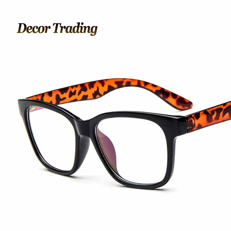 2018 Wholesale Retro Vintage Brand Big Round Frame Plain Glass ...