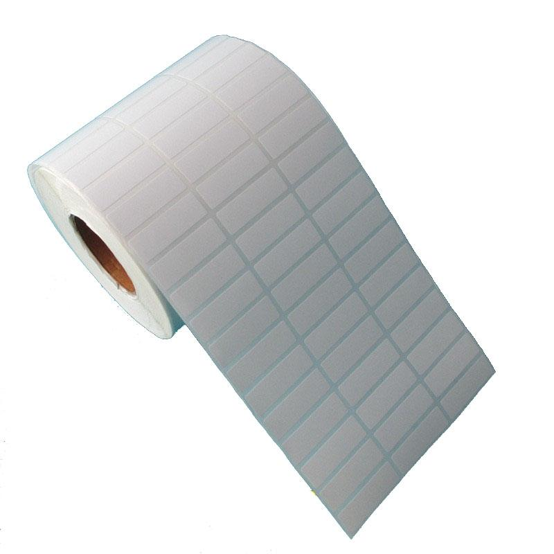 10000pcs /set new 30*10mm stock coated paper blank without printing roll label sticker