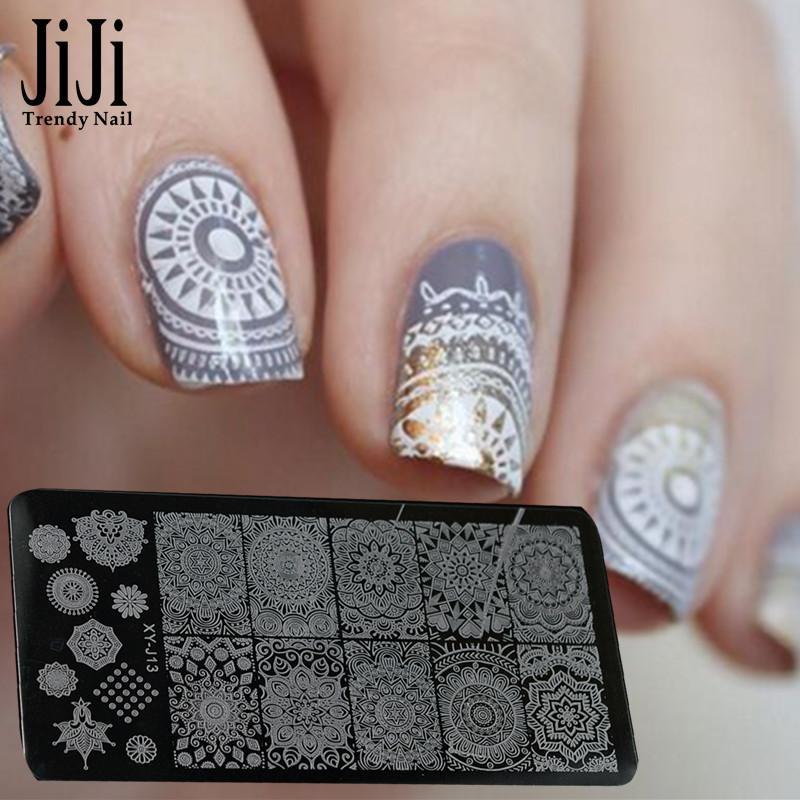 Wholesale Jiji Trendy Nail New Fashion Nail Art Stamp Stamping Image ...