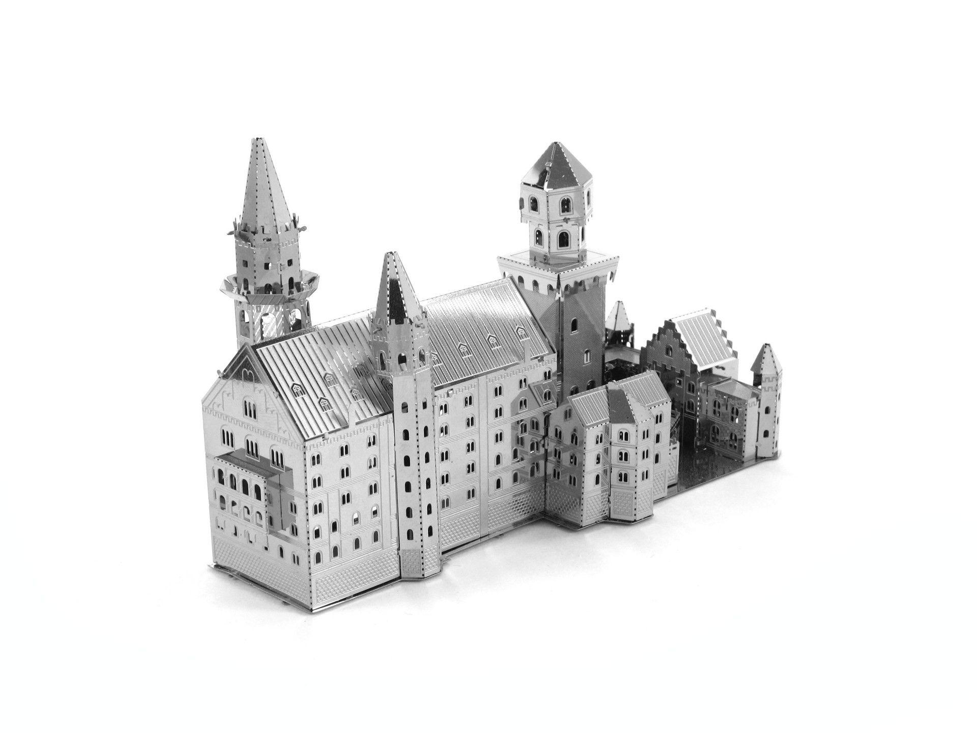 Best Quality New Swan Stone Castle German 3d Puzzle Mental Alloy