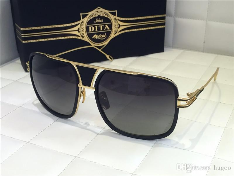 9a9bb1d6dd 2015 New Dita Grandmaster Five Women Men Brand Designe Acetate Square Shape  Sunglass Cool Sunglasses Custom Sunglasses From Hugoo