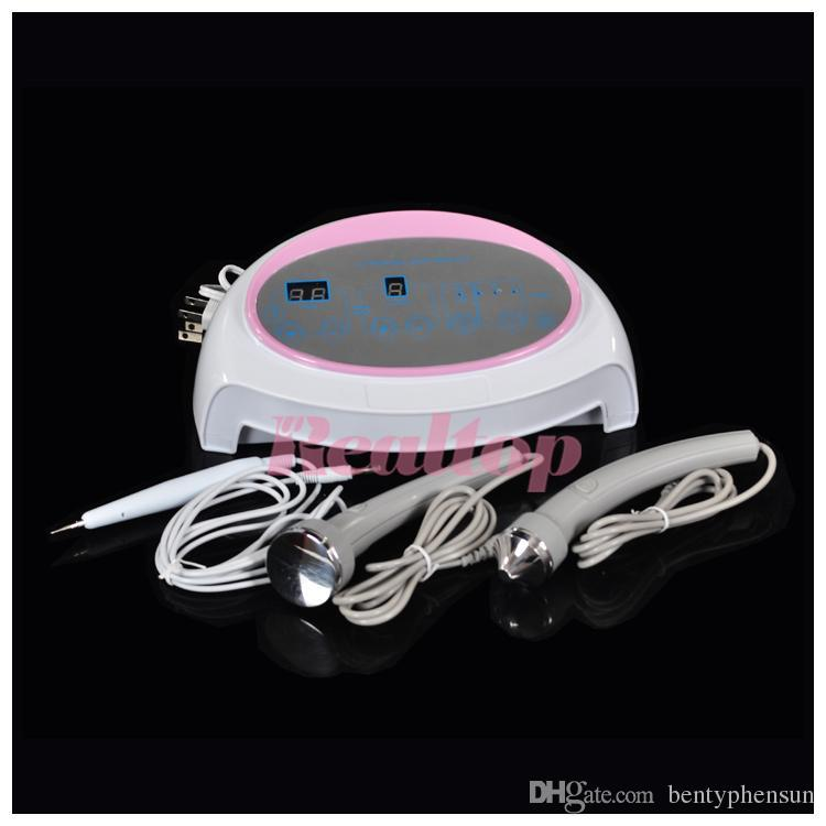 3in1 Ultrasonic Ultrasound skin Spot remover Mole Tattoo Removal Body Therapy Face spa device Massage instrument Beauty Machine Lowest price