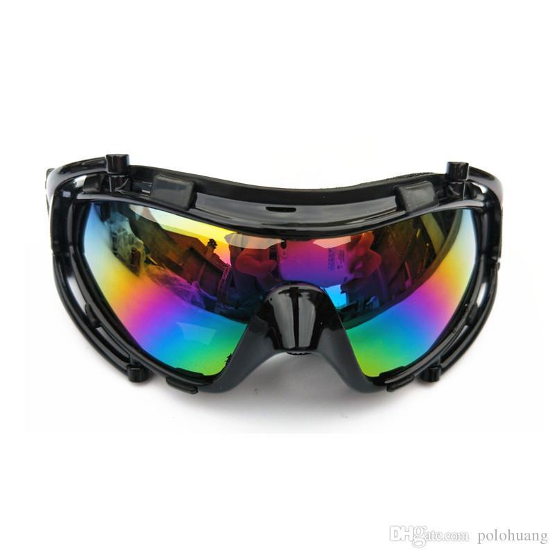 Compre Marca De Inverno Adulto Óculos De Esqui De Neve À Prova De Vento  Óculos De Motocross Motocicleta Snowmobile Barato Máscara À Prova De Vento  Óculos De ... 45aa697145