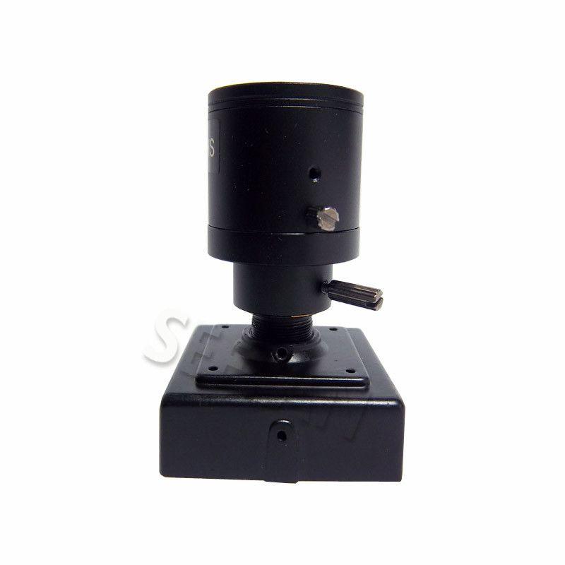 1080P 2.0MP mini cámara IP ONVIF 2.8-12mm manual varifocal zoom lente P2P Plug and Play Con soporte cámara de seguridad CCTV