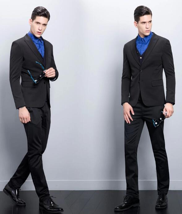 2015 The New Small Groom Suit Young Man A Wedding Dress Suit ...