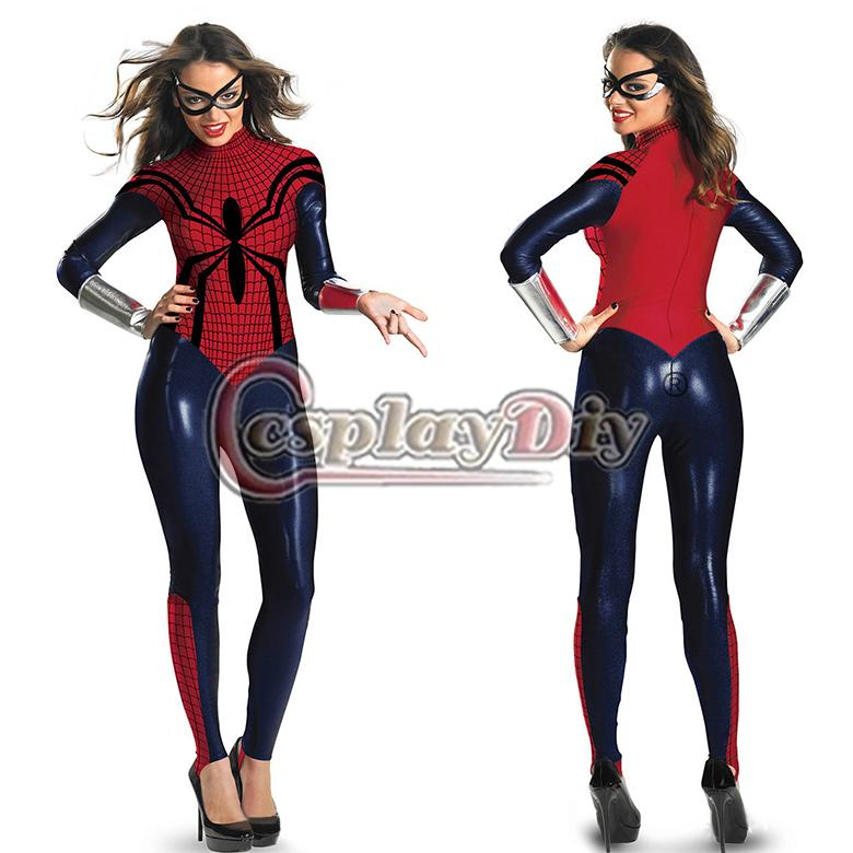 gro handel marvel comics sexy superheld spiderman bodysuit. Black Bedroom Furniture Sets. Home Design Ideas