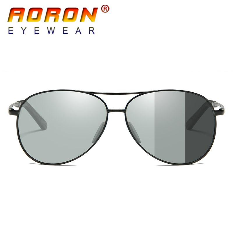 c8b2a9d878 Compre Conducir 2017 Hombres Gafas De Sol Fotocromáticas Unisex Polarizado  Lente Gafas Hombres / Mujeres Anti Deslumbramiento Gafas UV400 HD Gafas De  Moda ...