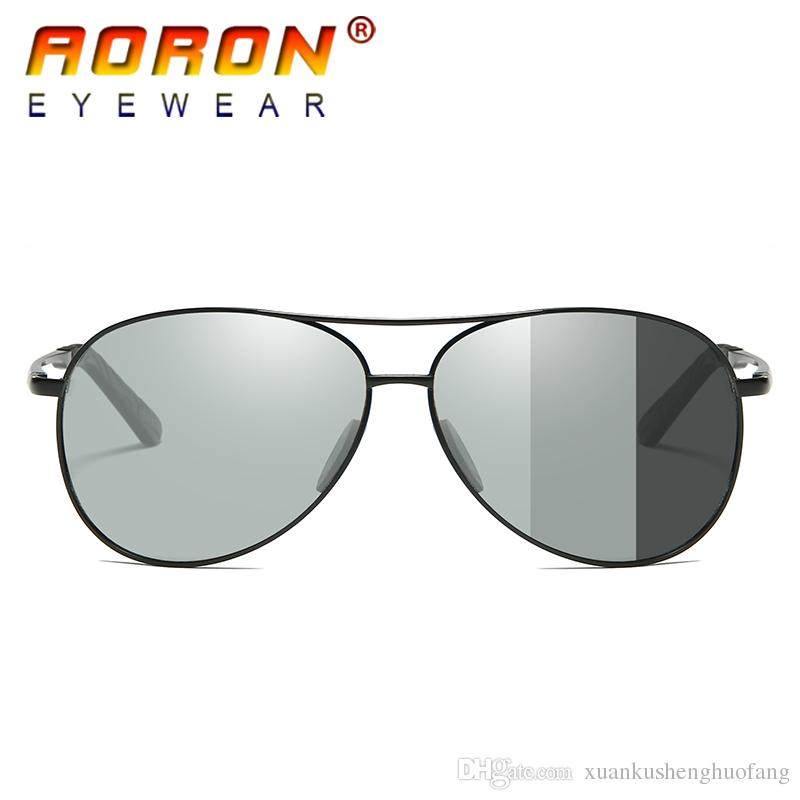 249f38c986 Driving 2017 Men S Photochromic Sunglasses Unisex Polarized Lens Eyewear  Men   Women Anti Glare UV400 Glasses HD Fashion Goggles With Gift Cool  Sunglasses ...